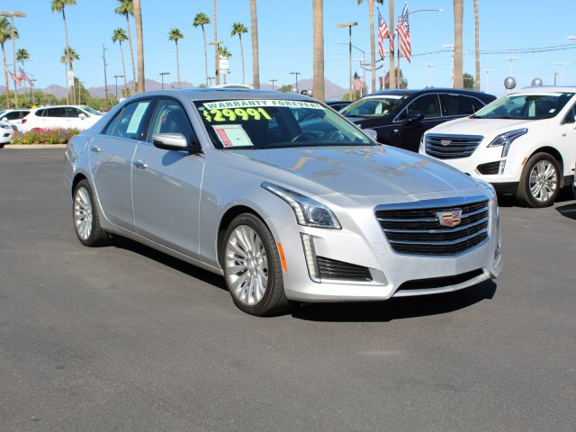Pre-Owned 2016 Cadillac CTS Sedan Luxury Collection RWD