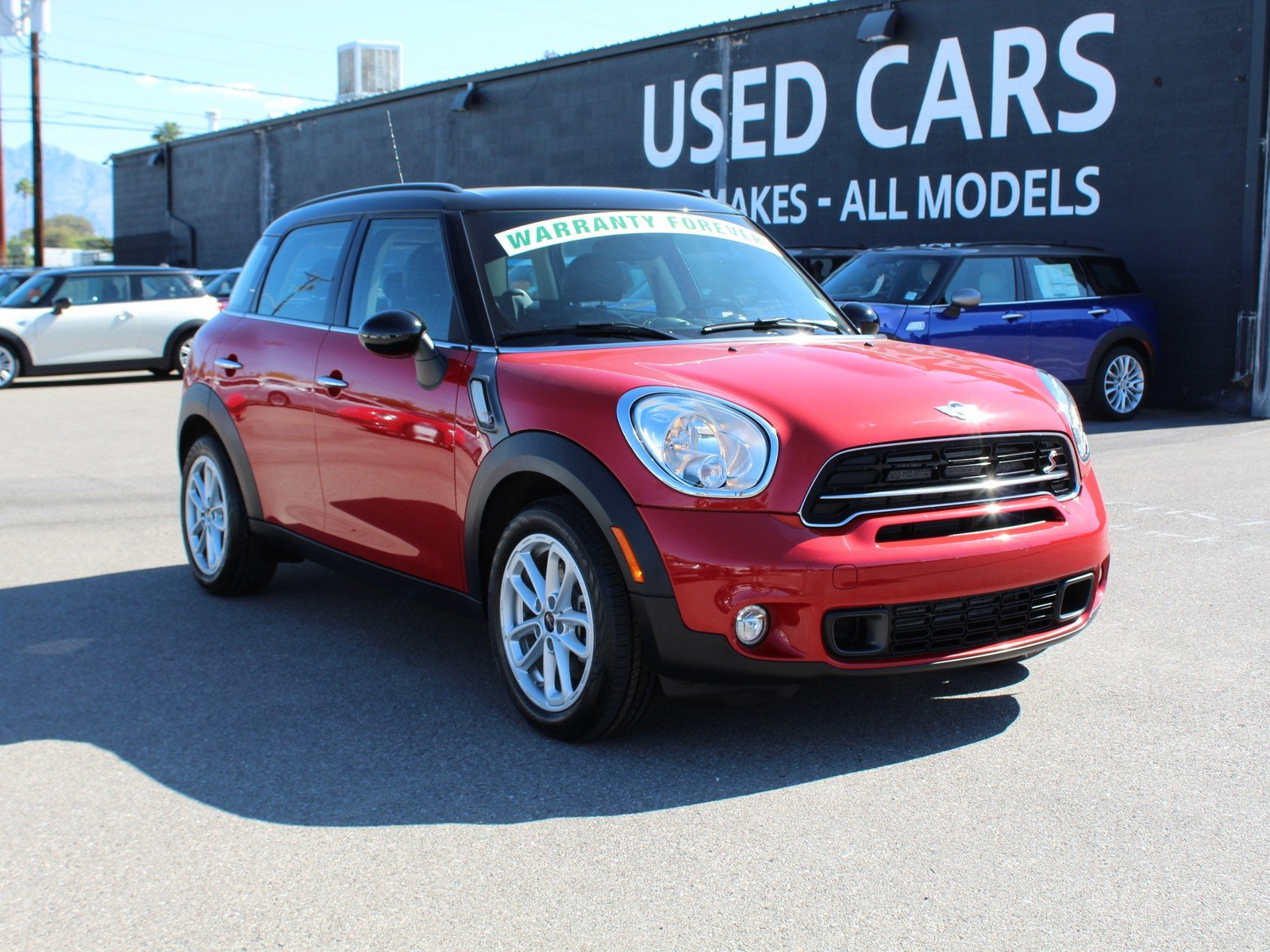 Pre Owned 2016 Mini Cooper Countryman S Sport Utility In Tucson